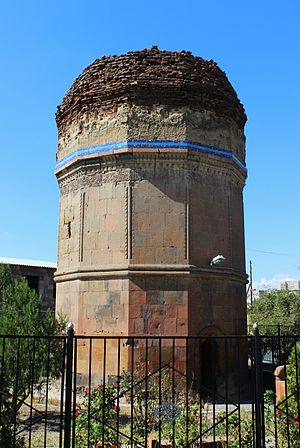 Ararat Province - The Mausoleum of Kara Koyunlu emirs in Argavand, 1413