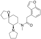 Chemical structure of Enadoline.