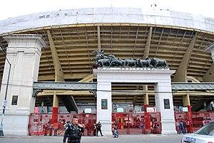 Plaza de Toros México - Image: Entrance Plaza Toros DF
