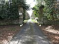 Entrance and drive to Letham House - geograph.org.uk - 1773729.jpg