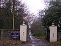 Entrance to Craufurdland Castle and Fishery - geograph.org.uk - 287828.jpg