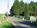 Entrance to Homeside Farm on road to Beacon Hill - geograph.org.uk - 327976.jpg