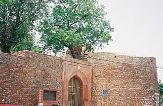 Salimgarh Fort - Entry Gate to Salimgarh Fort from the Yamuna River side