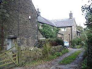 Grade II* listed buildings in Lancashire - Image: Entwistle Hall, Edgworth