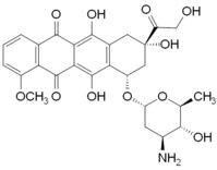 Epirubicin structure.png