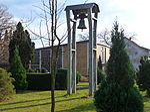 Eppelheim Glockenturm und Friedhofskapelle.JPG