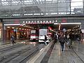 Erfurt Hauptbahnhof - Straßenbahnhaltestelle in der Bahnhofsunterführung (6669531181).jpg