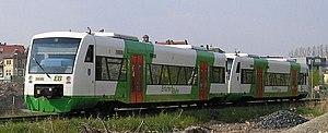 Erfurter Bahn - Image: Erfurter Bahn Triebwagen