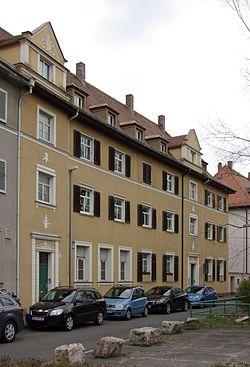 Erlangen Baugenossenschaftssiedlung Am Röthelheim 001.JPG