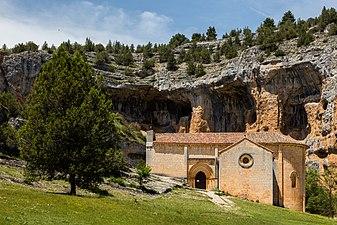 Ermita de San Bartolomé, Parque Natural del Cañón del Río Lobos, Soria, España, 2017-05-26, DD 01.jpg