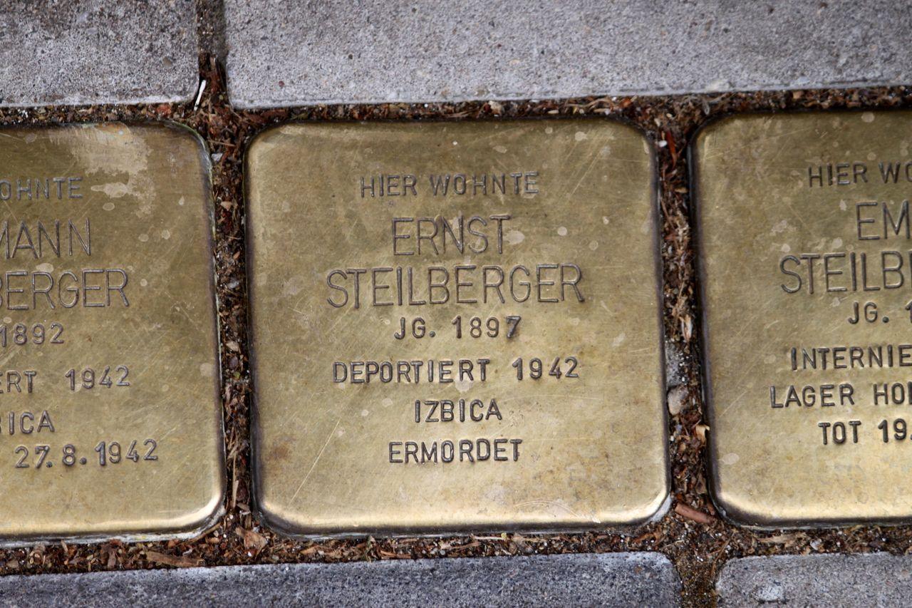 Stolperstein für Ernst Steilberger