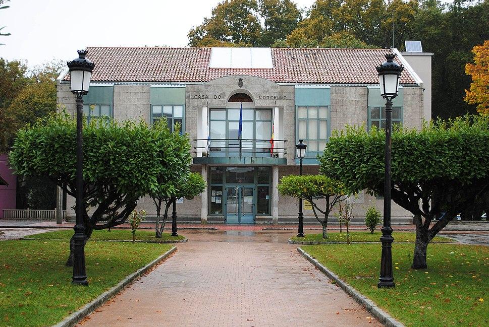 Escairón, Vilasante, Casa do Concello do Saviñao