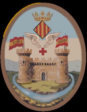Alcoy, Spain - Image: Escut d'Alcoi 1844