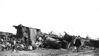 Esmond Train Wreck - The Southern Pacific Esmond wreck on January 28, 1903.