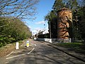 Essendon, B158 High Road and disused water tower - geograph.org.uk - 724062.jpg