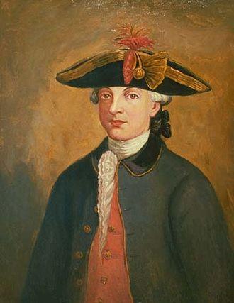 Esteban Rodríguez Miró - Portrait by unknown artist