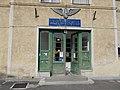 Esztergom train station building, entry.jpg