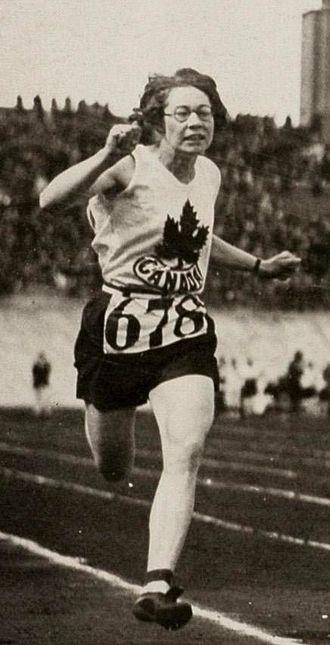 Ethel Smith (athlete) - Ethel Smith at the 1928 Olympics