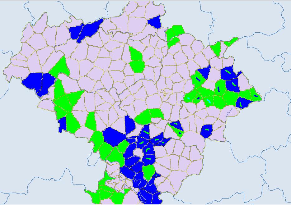 Ethnic townships in Yunnan, Sichuan, Guizhou