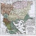 Ethnographic map Ami Boué, 1847.jpg