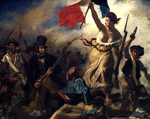 Eugène Delacroix - La liberté guidant le peuple (cropped)