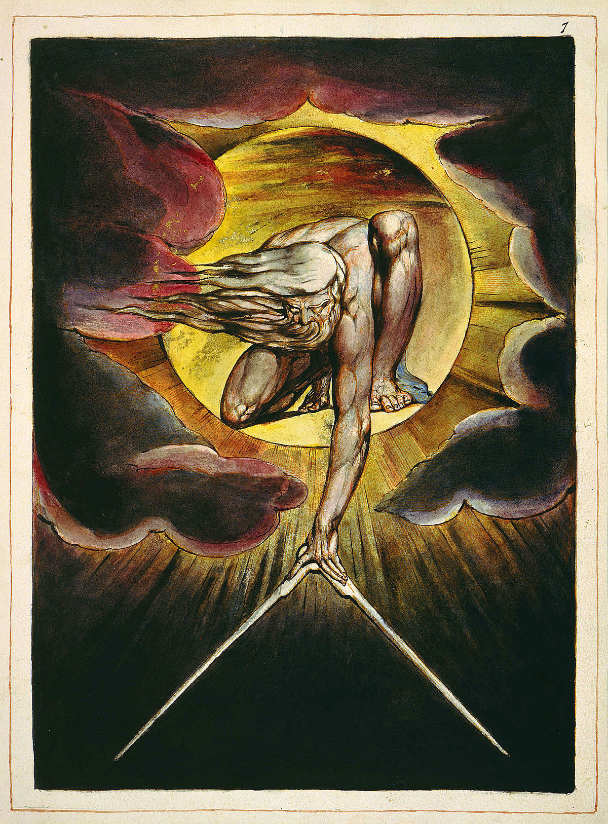 cuadro de William Blake