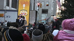Eurythmics - Stewart and Lennox performing on The Today show in 2005.