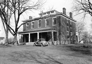 Parsons College - Ewing Hall in 1934