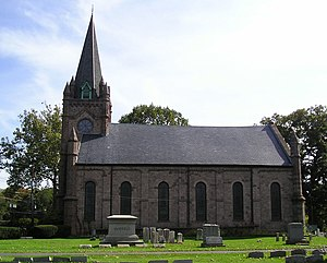 Ewing (unincorporated community), New Jersey - The Ewing Presbyterian Church in Ewing.