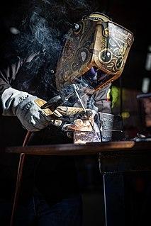 Shielded metal arc welding Manual arc welding process