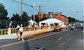 Exiting the Village Atlanta Paralympics.jpg