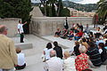 Explication de l'historique de la Villa Arson durant les journées du Patrimoine 2009.jpg