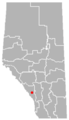 Exshaw, Alberta Location.png