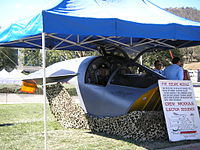 A8-141's crew escape capsule in 2007