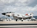 F-4J of VF-121 landing at NAS Miramar in 1978.jpg
