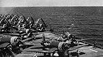 F4U Corsairs of VMF-312 aboard USS Hollandia (CVE-97), in April 1945.jpg