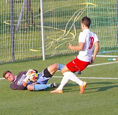 FC Liefering vs. Creighton University 11.JPG