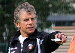 FC Lorient - June 27th 2013 training - Christian Gourcuff 5.JPG