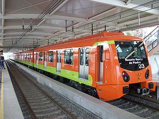 rapid transit railway in Mexico City