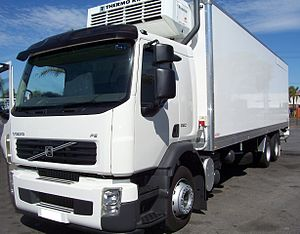 Cold chain - Truck with cooling system