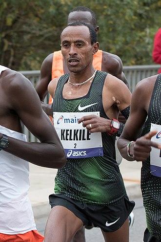 Kelkile Gezahegn - Kelkile Gezahegn at the 2018 Frankfurt Marathon