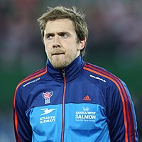 FIFA WC-qualification 2014 - Austria vs Faroe Islands 2013-03-22 - Gunnar Nielsen 02.jpg