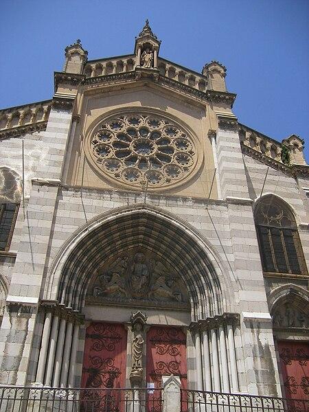 Cathédrale Saint-Jérôme Digne-les-Bains (Динь-ле-Бен), Прованс, Франция