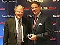 "FRC President Tony Perkins presents the ""True Blue"" award to Senator Jim Inhofe.jpg"