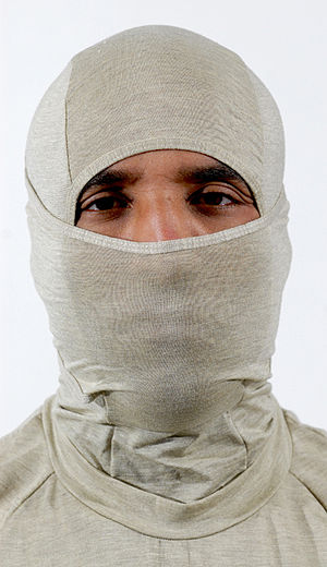 Flame Resistant Organizational Gear - A Marine models the FROG balaclava and shirt