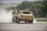 FUCHS reconnaissance vehicle being put through its paces by Falcon Squadron Royal Tank Regiment MOD 45160048.jpg