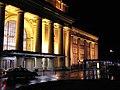 Facade, Wgtn Rly Stn by Night - panoramio.jpg