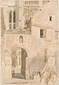 Facade of Chartres Cathedral MET DP165304.jpg