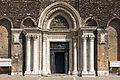 Facade of Santi Giovanni e Paolo (Venice) - Portal.jpg