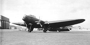 Fairey Hendon - A Fairey Hendon of no. 38 Squadron